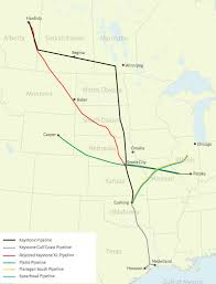 Keystone Xl Pipeline Map Canada U0027s Oil Boom Arrives In Missouri Missouri Business