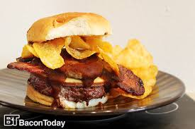 ultimate backyard bbq the ultimate bbq bacon burger bacon today