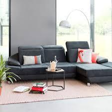 canape tissu design canapé d angle 15 modèles pour un salon design côté maison