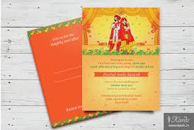 Punjabi Wedding Cards Kards Creative U0026 Custom Designed Indian Wedding Invitations