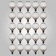incandescent g style light bulbs g40 g50 g80 all globe light