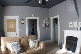 we used glidden u0027s granite gray mixed in behr u0027s paint for the wall