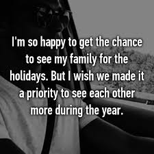 what really think about family time during the holidays