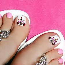 easy nail art for toes 5 easy nail ideas toe nail art pedicures and pedi