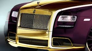 rolls royce gold and white 24k gold fenice milano purple rolls royce ghost youtube