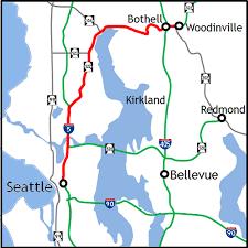 wsdot seattle traffic map wsdot seattle to woodinville via sr 522