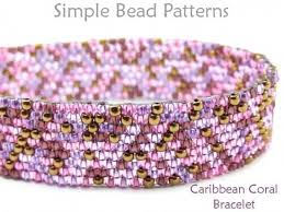 bracelet beading pattern images Fringe stitch beaded bracelet jewelry making by simple bead patterns jpg