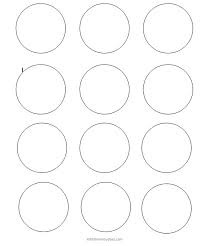 1 Inch Circle Template by Circle Template Venn Diagram Template 4 Circle Work Sheet