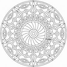 the elegant mandala printable coloring pages regarding motivate to