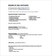 Air Traffic Controller Resume Sample by Carpenter Resume Examples 10 College Resume Templates Free