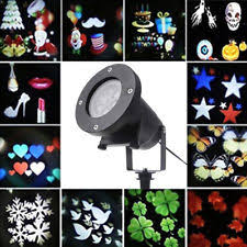 Outdoor Projection Lights For Christmas Laser Stars Light Show Ebay