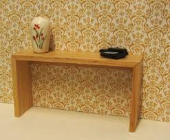 light wood console table light wood console table elf miniatures
