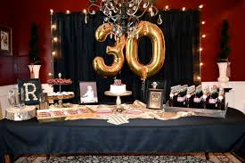 30th birthday party ideas masculine decor for party men s 30th birthday