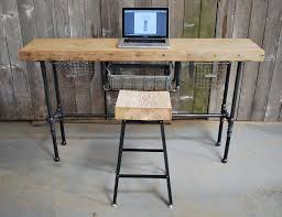 Small Portable Desk by 33 Stunning Reclaimed Wood Desks