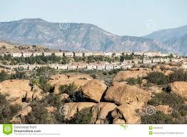 hillside los angeles homes stock photo image 48339154