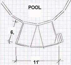 pool plans free free above ground pool deck plan home decor pinterest pool