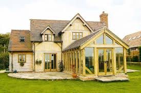 Sunroom Extension Designs How To Add An Oak Frame Extension Period Living