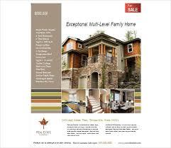 real estate flyer template publisher real estate flyer templates