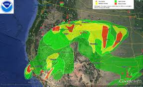 California Wildfire Smoke Map by Oregon Smoke Information Noaa Provides Big Picture On Smoke