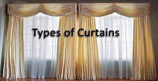 Types Of Curtains Types Of Curtains To Enhance The Appearance Of Your Home Archi Fied