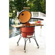 Backyard Classic Grill by Kamado Joe Classic Ceramic Grill On Cart Red Bbq Guys
