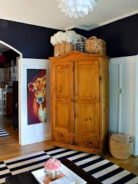 living room armoire navy white living room board batten reveal armoire top jpg it all
