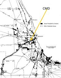 Map Metro Chicago by Industry Infrastructure And Intermodalism U2014still Mixed Up On