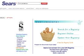 baby registries search sears baby registry becker aka mommyknows
