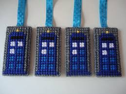 doctor who tardis ornaments plastic canvas ornaments tardis