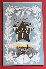 new year s postcards antique 1900s new years postcard peaceful two