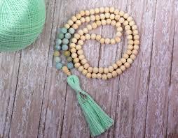 etsy beads necklace images Mala necklaces extol info jpg