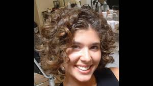 short hairstyle for curly thick hair youtube