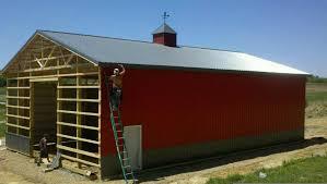 Cupolas For Barns 40 X 60 X 16 Pole Barn Customer Projects June 2012 Apm Pole