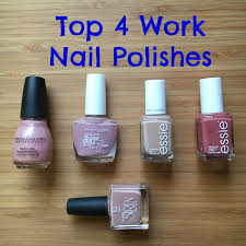 beautiful living top 4 best nail polishes for work