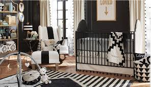 Black Nursery Rocking Chair Black And White Nursery Insanity Elements Of Style