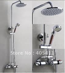 Thermostatic Shower Faucetstemperature Showers Faucetmixer Valve - Faucet sets bathroom