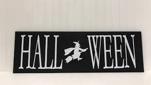 halloween sign tutorial the wood connection blog