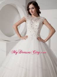 bridal gowns online pretty lace sheer sweetheart neck sequined gown wedding gown