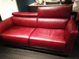 Natuzzi Red Leather Chair Daley Decor With Debbe Daley