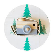 ins baby kids cute wood camera toys children fashion clothing