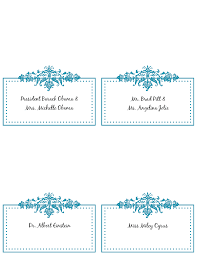 Wedding Place Cards Template Place Card Template Free 6 Per Page Best U0026 Professional Templates