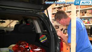 how to install repair replace sagging falling rear tailgate jeep