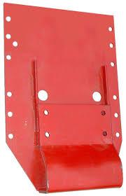flat top fender mounting bracket rear rims fenders farmall