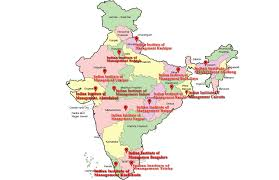 Indian Map India Map Iim College Mba Colleges India