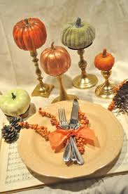 thanksgiving crafts for decoration dinner table cloth