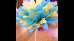 tissue paper crafts for kids youtube
