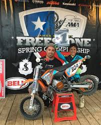 motocross races in texas alex vestal and evan woody make trip to nationals
