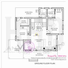 square meters house floor plan plans ground foot 200 admirable