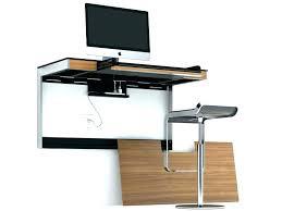 wall mounted desk amazon floating wall desk view in gallery floating minimalist oak desk wall