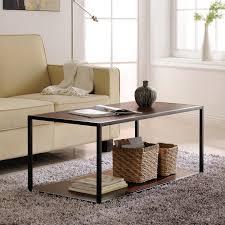 metal frame coffee table porch den wicker park haddon metal frame coffee table free